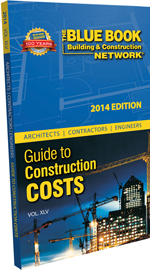 Construction resources online product guide for the Online construction cost estimator